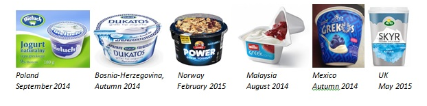 "Bidding War of ""Origin"" Yoghurts - Will it Still Sell and Where?"