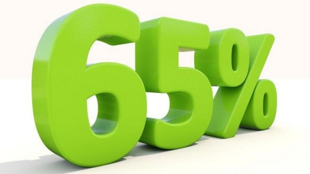 a percentage