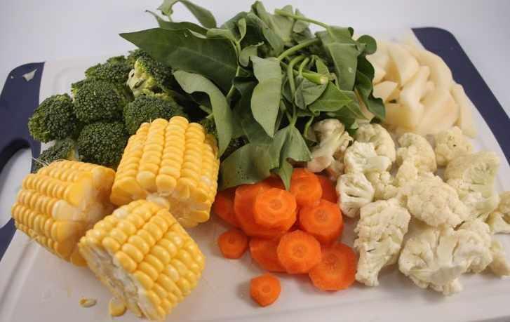 Овощи для пароваркиы с фото