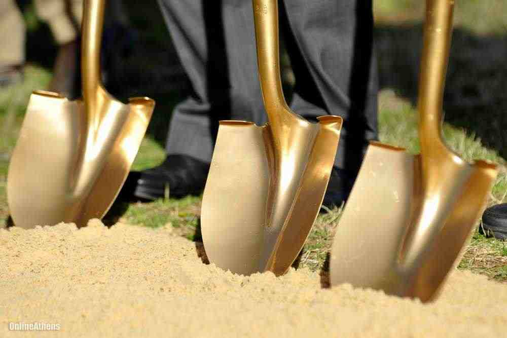 Parker Products breaks ground