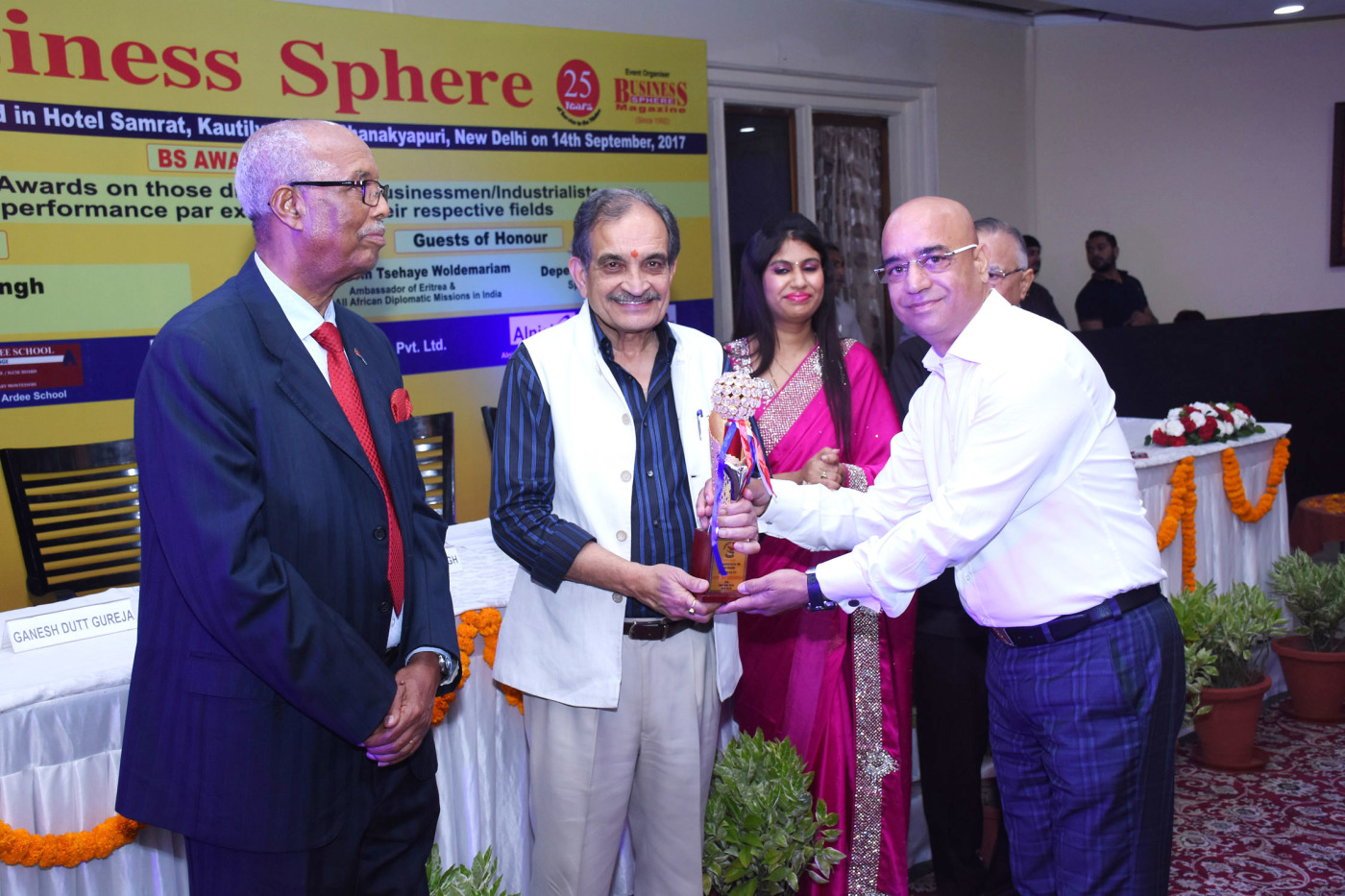 Business Sphere Award for Most trusted Company