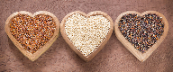 Ancient grains have become household names