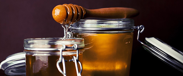 How does honey compare to sugar?