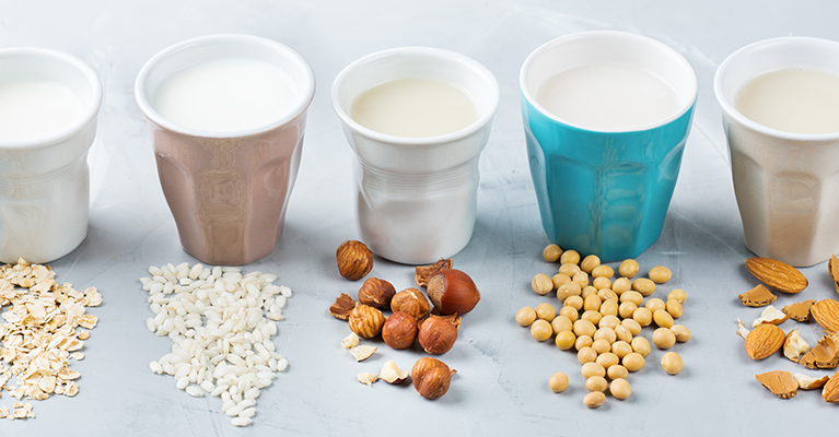 Brits continue to embrace plant-based milk