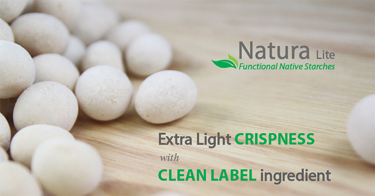 Natura Lite : Functional Native Starch for Extra Light Crispness