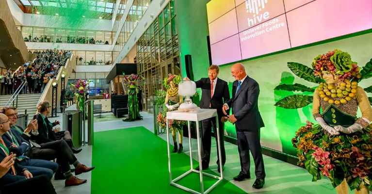 Unilever opens innovation centre on Wageningen campus