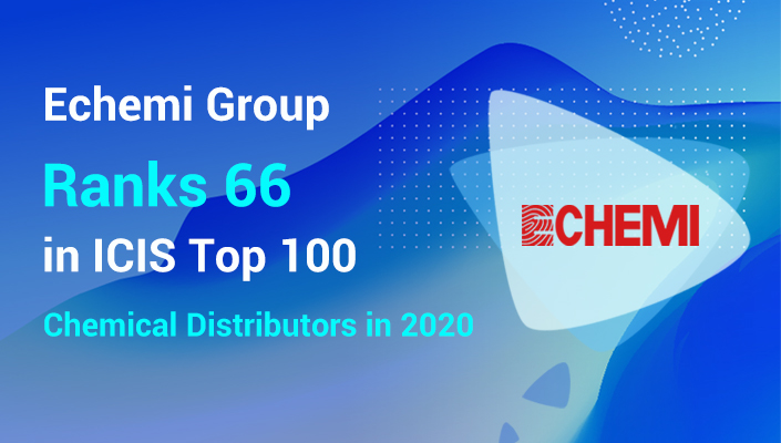 Echemi Group Ranks 66 in ICIS Top100 Chemical Distributors 2020