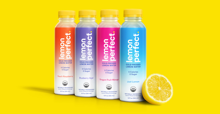 Lemon water brand gets celebrity investment