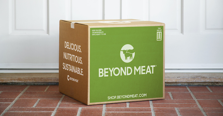 Beyond Meat launches new e-commerce platform