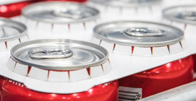 Coca-Cola introduces recyclable paperboard rings on its multi-packs
