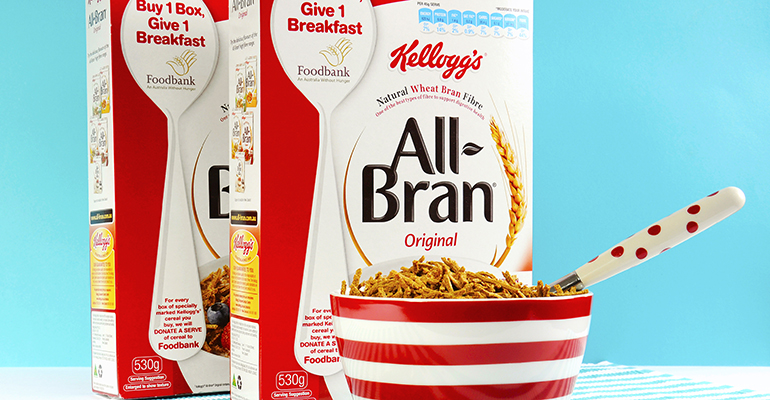 Kellogg's pilots cereal boxes designed for the blind in the UK