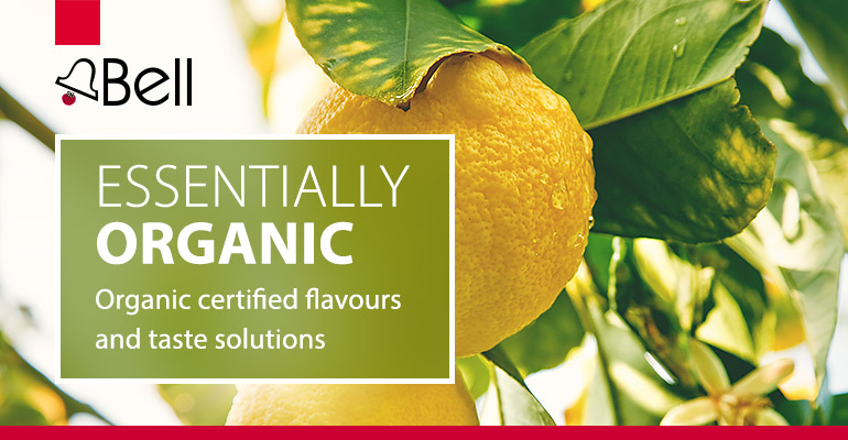 Bell Flavors & Fragrances EMEA releases range of EU-organic certified flavours for beverages