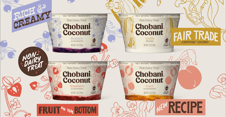 Chobani coconut yogurt is now Fair Trade certified