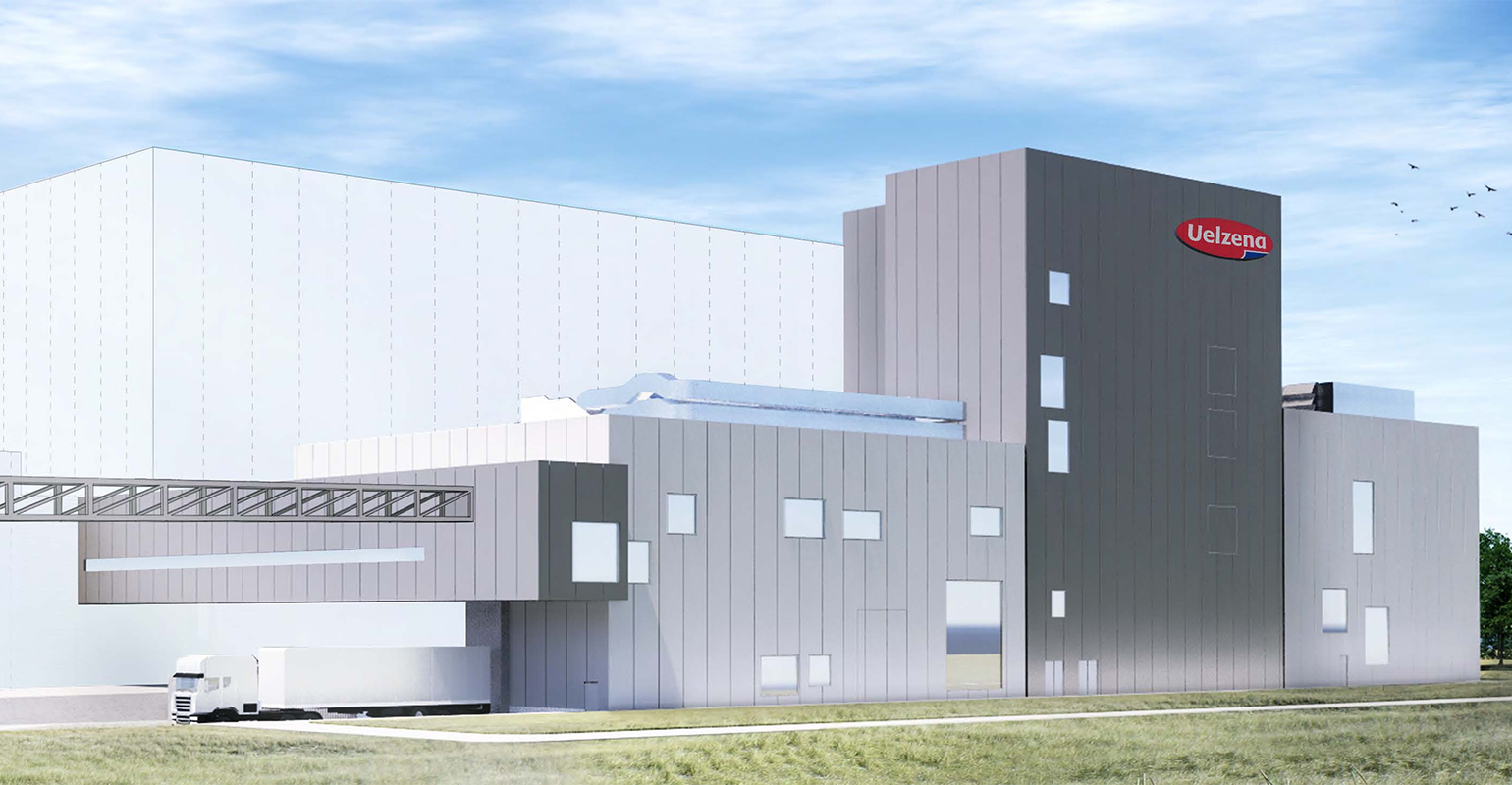 Uelzena Group builts new spray-drying plant in  Uelzen