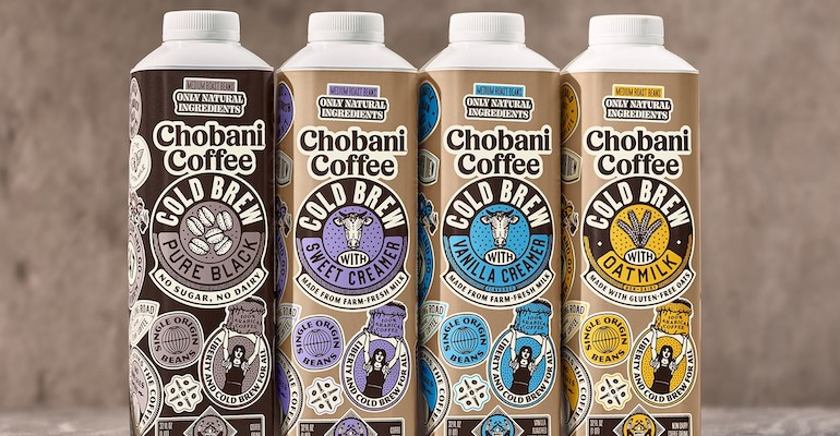 Chobani moves out of yogurt into RTD coffee