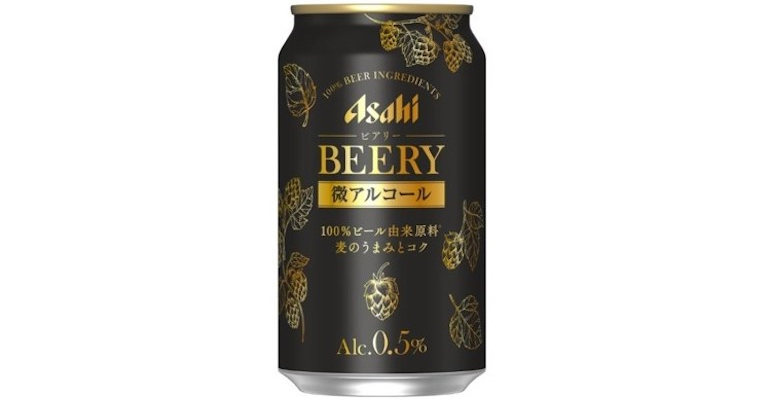 Asahi Breweries launches low-alcohol alternative Beery