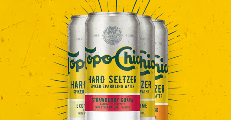 Topo Chico finally debuts its hard seltzer