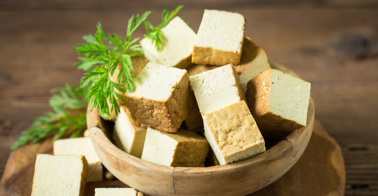 Pea-based tofu offers another alternative for plant-based protein