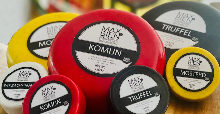 World's first waxed vegan cheese wheels launch in Netherlands