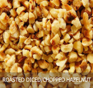 chopped hazelnut