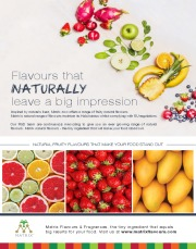 Food Flavours - Natural Flavourings