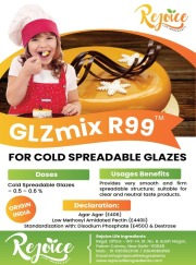 GLZmix R99 - for Cold Spreadable Glazes