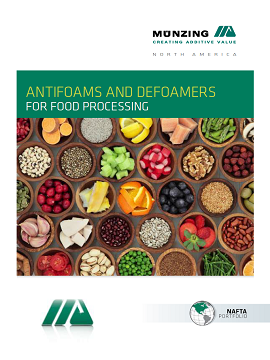 ANTIFOAMS AND DEFOAMERS FOR FOOD PROCESSING - AMERICAN VERSION