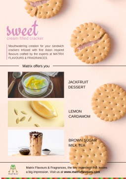 Flavours - Sweet Cream Filled Cracker