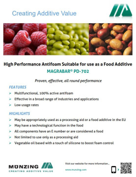 High Performance Food Grade Antifoams