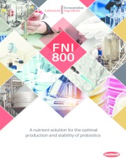 FNI 800 - a nutrient solution for the optimal production and stability of probiotics
