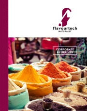 Flavourtech Corporate Brochure
