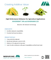 High Performance Defoamers for Agriculture Applications.