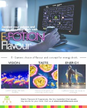 E-Potion Flavour for Energy Drink