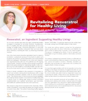 Revitalizing Resveratrol for Healthy Living