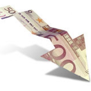 http://www.dreamstime.com/royalty-free-stock-photos-euro-bank-note-downward-trend-arrow-graph-shaped-showing-economic-isolated-background-image31573198