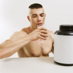 man-drink-protein-shake-athletic-young-33213937